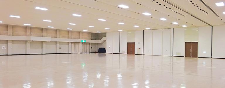 大ホール・パルス(350坪)内観